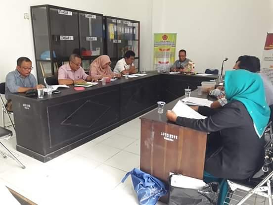 Rapat Penyusunan Borang Prodi Ilmu Hukum S2
